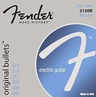 Fender 3150R Original Bullets ピュアニッケル Regular(10-46) フェンダー エレキギター弦【国内正規品】