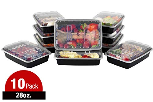 Meal Prep Containers - 28oz 10pk