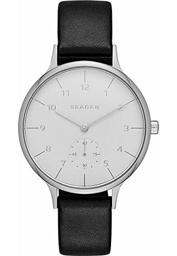 Skagen Skagen Damen-Uhren Analog Quarz Leder 32003381