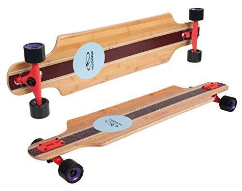 HUDORA Longboard Del Mar - ABEC 7 - Skateboard - 12811