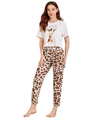 Pijama Jirafa Niña  marca DIDK