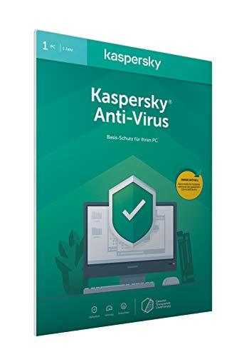 Kaspersky Anti-Virus 2020 Standard   1 Gerät   1 Jahr   Windows   Aktivierungscode in frustfreier Verpackung