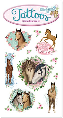 Tattoo-Set * Pferde * von Lutz Mauder | 44680 | Pferd Pony Tattoos Kindertattoo Kinder Geburtstag Mitgebsel