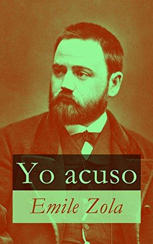 Portada del libro Yo acuso de Emile Zola