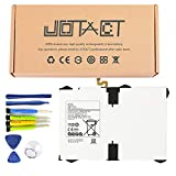 JOTACT EB-BT825ABE3.8V 22.8Wh/6000mAh 2-Cell Tablet Battery Compatible with Samsung Galaxy Tab S3 9.7 inch SM-T820 T825820 T825 T825C T825N0 T825Y Series Tablet EB-BT825ABA GH43-04702A with Tools