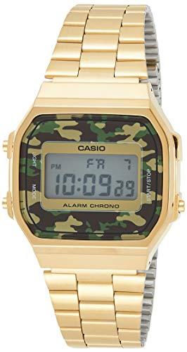 Casio Collection Unisex Retro Armbanduhr A168WEGC-3EF