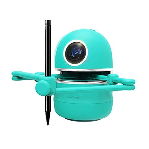 TTLIFE Kleinkind Roboter Spielzeug Zeichenroboter Anzug Enthält 4 Bücher, 38 Karten und 2 Stifte, Künstler-Malroboter USB wiederaufladbar, zum Malen / Rechtschreiben / Mathematik