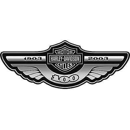 Retrolo Sticker Für Helm Shoei Harley Davidson Totenkopf Schwarz Vorne Auto