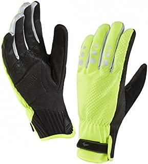 Sealskinz 122161708070-M Women's All Weather Cycle XP Glove, Medium, Black/Hi Vis Yellow