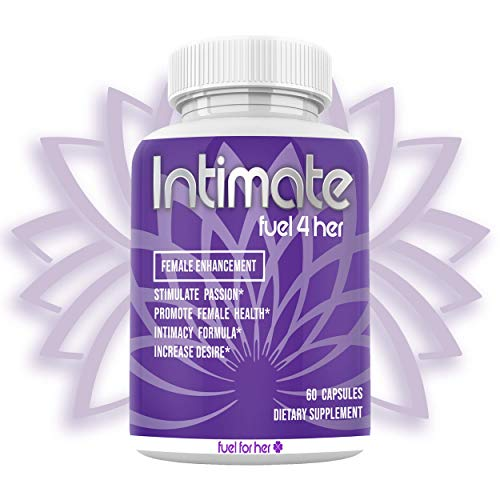 Intimate Female Enhancement Pills – Premium Hormone Balance Complex for Women – Supports Energy, Mood, Passion, Desire, Performance w/Ginseng, Maca Root, Saw Palmetto, Horny Goat Weed – 60 Veg Caps