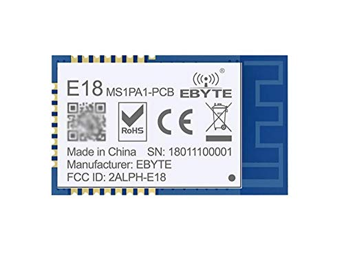 K-Fang-io 800 Meter, CC2530F256 + PA (CC2592) Funkmodul 2.4G ZigBee-Entwicklungsboard IPEX/IPX 20DBM UART/IO (Farbe : PCB Antenna)