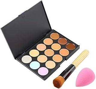 15 Color Pro Corrector facial Primer Crema Contorno Paleta