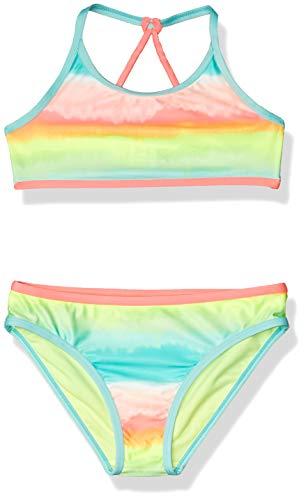 Under Armour Girls' Big Bikini, Eclectic Pink sp20, 14