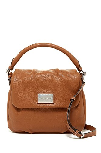 Marc Jacobs Classic Leather Shoulder Bag (Saddle)