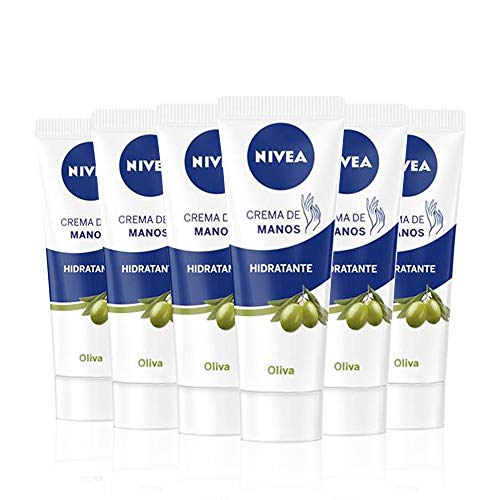 NIVEA NIVEA Crème de Mains huile d'Olive – 100 ML – 6 unités