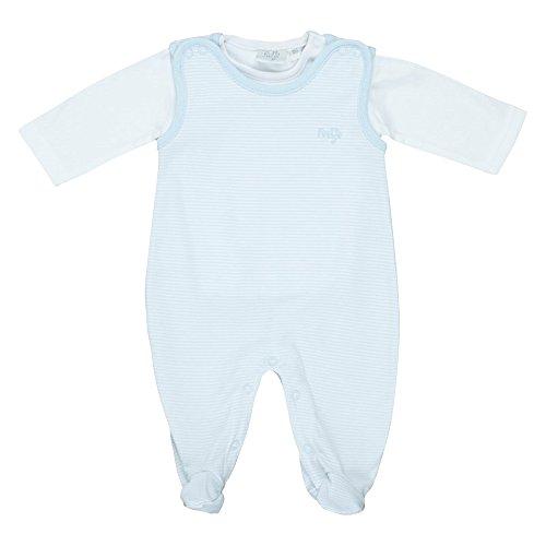 Feetje Grenouillère avec T-Shirt bébé Ensemble bébé, Bleu Ciel
