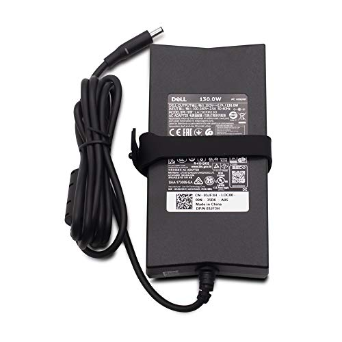 Dell New Genuine XPS 15-9550 15-9530 15-9570 15-9560 Laptop Adapter Power Supply 130W Please note adapter will only fit XPS 15 listed above Models compatible Part HA130PM160 05JDV6 5JDV6