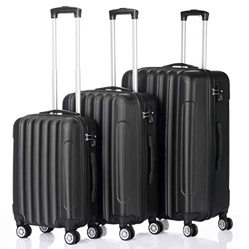 Portable ABS Cabin Suitcases, 3-in-1 Mini Suitcase Hand Luggage Suitcases with 4 Wheels for Travel Trip Long Lasting Use