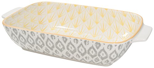 Now Designs Stamped Baking Dish, 6 inches by 9 Inches, Sunrock Design