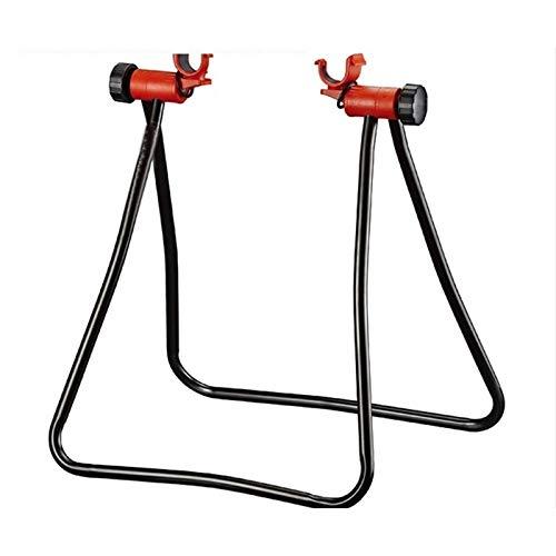 Soporte de Reparación de Bicicletas Ruedas plegable bicicleta de la bici reparación posición de aparcamiento pata de cabra Holder Herramientas estadía de bicicletas Mantenimiento / al aire libre y uso