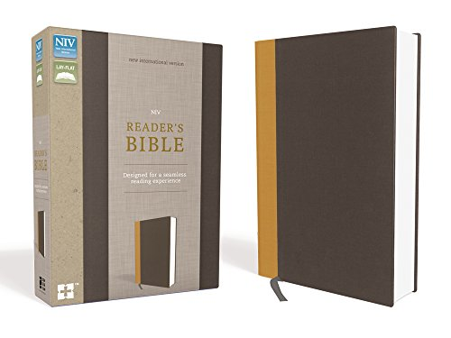 Compare Textbook Prices for NIV, Reader's Bible, Cloth over Board, Gold/Gray: Designed for a Seamless Reading Experience Special ed. Edition ISBN 9780310446613 by Zondervan