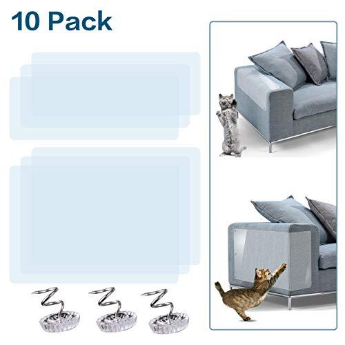 GoHoKi - Juego de Protectores de Muebles para Gatos (4 Unidades, tamaño Grande, 6 Unidades)