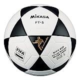 Mikasa FT5 FQ BKW, Pallone Speciale per Footvolley Unisex Adulto, Bianco/Nero, 5