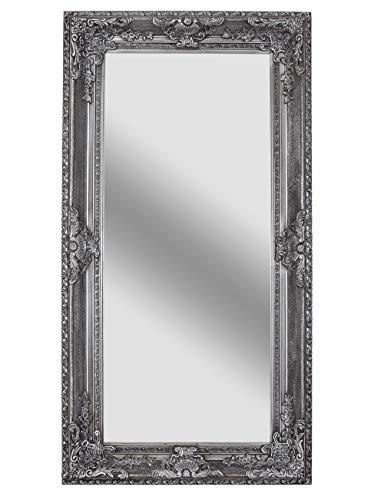 XXL Standspiegel Silber Garderobenspiegel Ankleidespiegel Barockspiegel 216x112 sna028 Palazzo Exklusiv