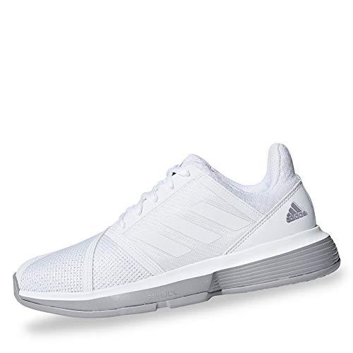 adidas Courtjam Bounce W, Scarpe da Fitness Donna, Bianco (Ftwbla/Ftwbla/Grasua 000), 44 2/3 EU