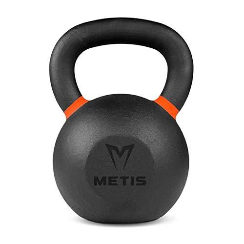 METIS Pesas Rusas Kettlebells de Hierro Nivel Pro - [4kg - 40kg] | Pesas Profesionales Duraderas – Musculación en Casa o en el Gimnasio | Entrenamiento Funcional | Material de Fitness (12 kg)