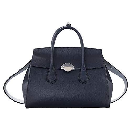 Bogner Damen Zermatt Josie Handbag Lhf Henkeltasche, Blau (Darkblue), 15x24.5x43 cm