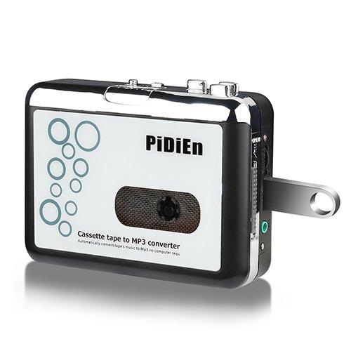 Cassette Player USB Cassette To mp3 Converter Capturar Guardar en Flash Drive Directamente No Necesita computadora + obsequio Dedicado Stereo Alrededor de los Auriculares + El Primer Estilo del Mundo