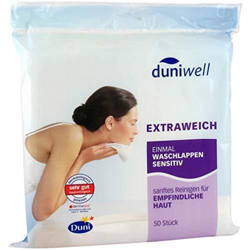 Duniwell Einmalwaschlappen Duniwell sensitiv 20 x 20cm 8 * 50 Stk.