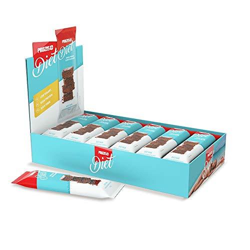 Prozis Diet Bar 12x35g - Delicioso Aperitivo Brownie de Chocolate - Rico en Proteína y Bajo en Hidratos de Carbono y Azúcares - Ideal para las Dietas de Pérdida de Peso y Libre de Culpa