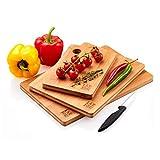Tablas De Cortar Cocina en Madera Premium Extra-Gruesas