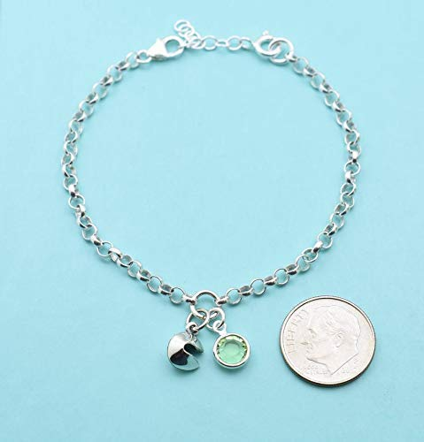 Fortune Cookie Charm Bracelet. Personalized Gift. Fortune Cookie Gifts. Fortune Cookie Jewelry. Fortune Cookie Bracelet