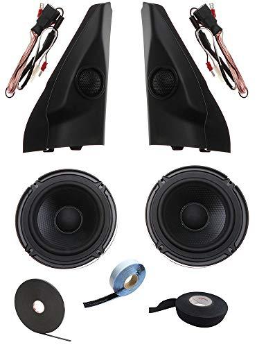 OPTION 13cm Lautsprecher System - Suzuki Jimny GJ ab 2018 Option Lautsprecher-Komplettset - 60 WRMS, 3 Ohm, fertig montierte Hochtöner inkl. Torx-Set & Entrieglung