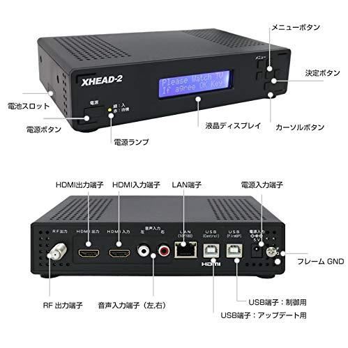 『マイコンソフト 地デジ対応 OFDM変調器 混合器+HDMIケーブル付限定セット XHEAD-2 DP3913555 電波新聞社 アンテナ デジタル変調器』のトップ画像