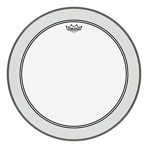7. Remo Powerstroke P3 Clear Bass Drumhead,