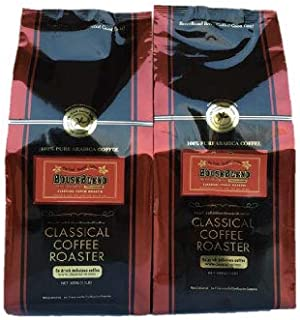コーヒー 粉 ハウスブレンド 中深煎 1Kgセット 中挽 クラシカルコーヒーロースター