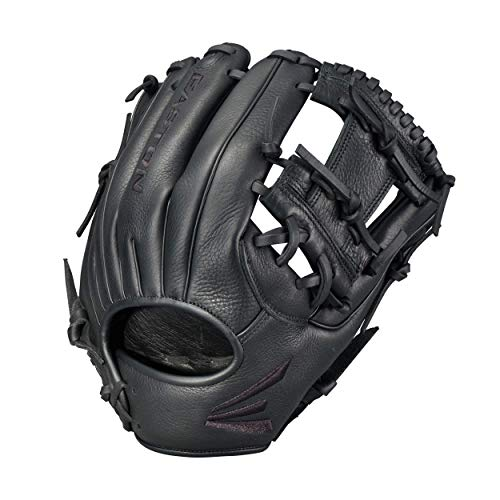 EASTON BLACKSTONE First Base Baseball Glove | 2020 | Right-Hand Throw | 12.75' | First Base Mitt | Dual Bar Web | Select Cowhide Leather | Supple Leather Palm Lining For Added Comfort + Feel | BL3
