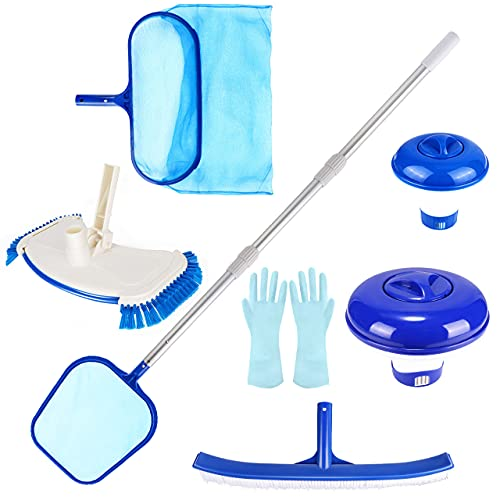 Familybox Pool Pond Cleaning Maintenance Kit, Spa Hot Tub Accessories with...