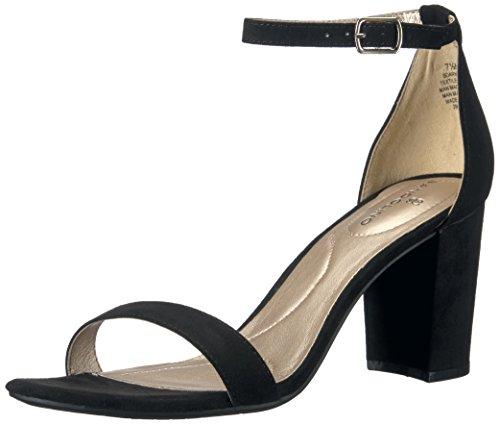 Bandolino Women's Armory Heeled Sandal, Black 010, 8