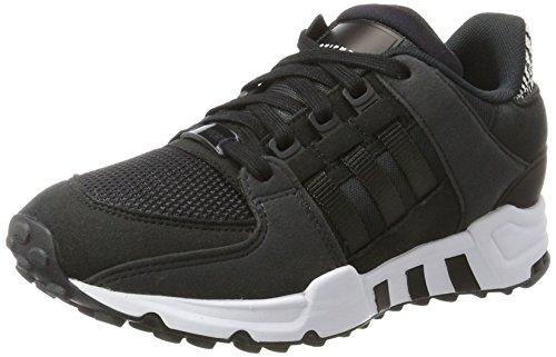 adidas EQT Support J, Scarpe da Ginnastica Unisex-Adulto, Nero (Core Black/Carbon S14/Ftwr White), 38 2/3 EU