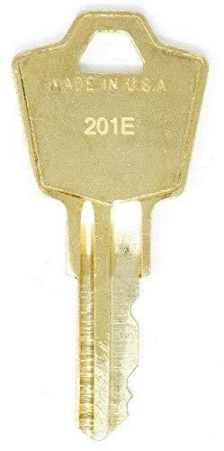 HON 201E File Cabinet Replacement Keys: 2 Keys
