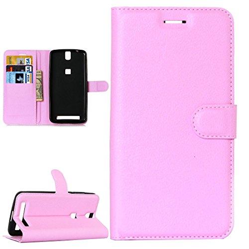 jbTec Handy Hülle Hülle passend für Elephone P8000 - Schutz Tasche Smartphone Flip Cover Phone Bag Klapp Klappbar Etui, Farbe:Rosa