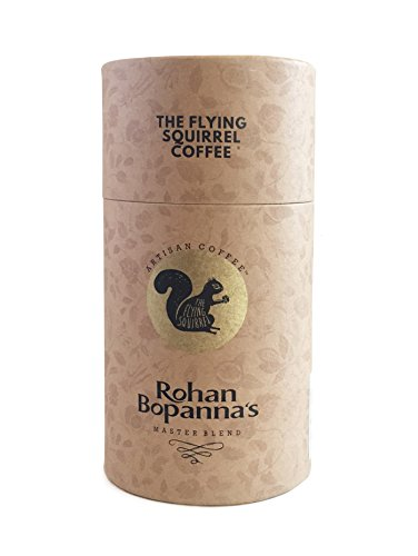The Flying Squirrel Coffee Rohan Bopanna Masterblend Coffee Powder and Beans, Whole Beans, 250g