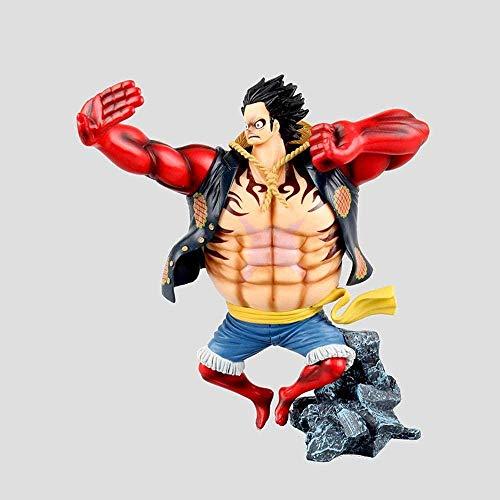 NTCY Action Figur Anime Figuren Modell Spielzeug Einteilige Ruffy Outfit Action 20Cm Geschenksammlung Animation Charakter Statue Dekoration