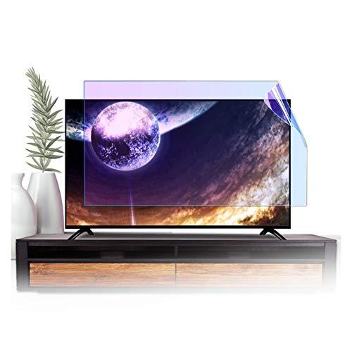 GFSD 32-75 Pulgadas Protección Ocular Protector de Pantalla TV Luz Azul Anti Prevenir La Miopía Fácil Limpiar, Amplia Personalización (Color : HD Version, Size : 49 Inch 1075 * 604mm)
