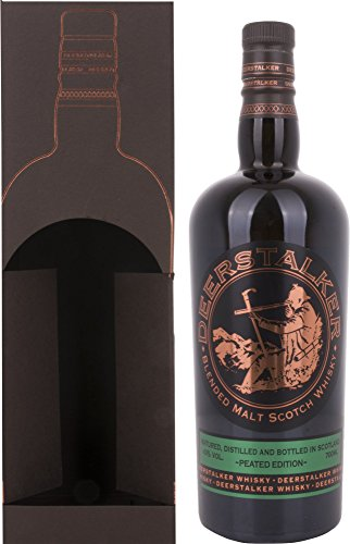 Deerstalker Blended Malt Scotch Whisky PEATED EDITION mit Geschenkverpackung (1 x 0.7 l)